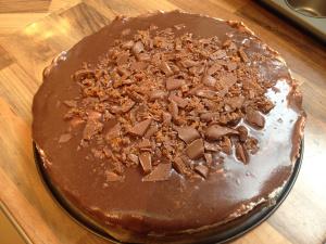 Brownie-Toffee-Torte
